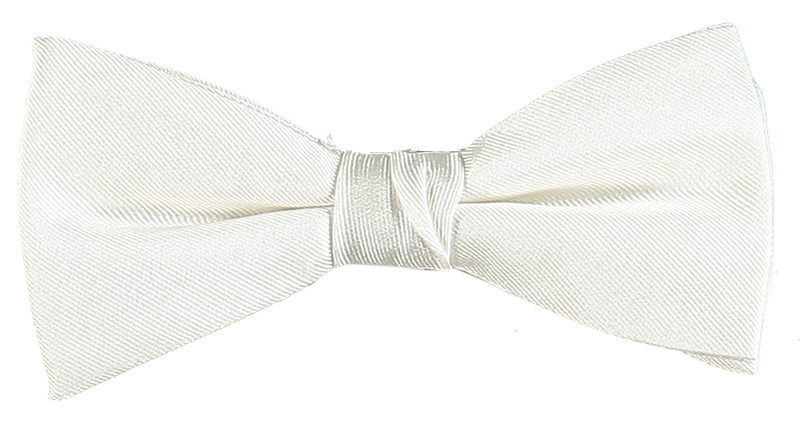 BOW TIE SOLID 000/WHITE /ONE
