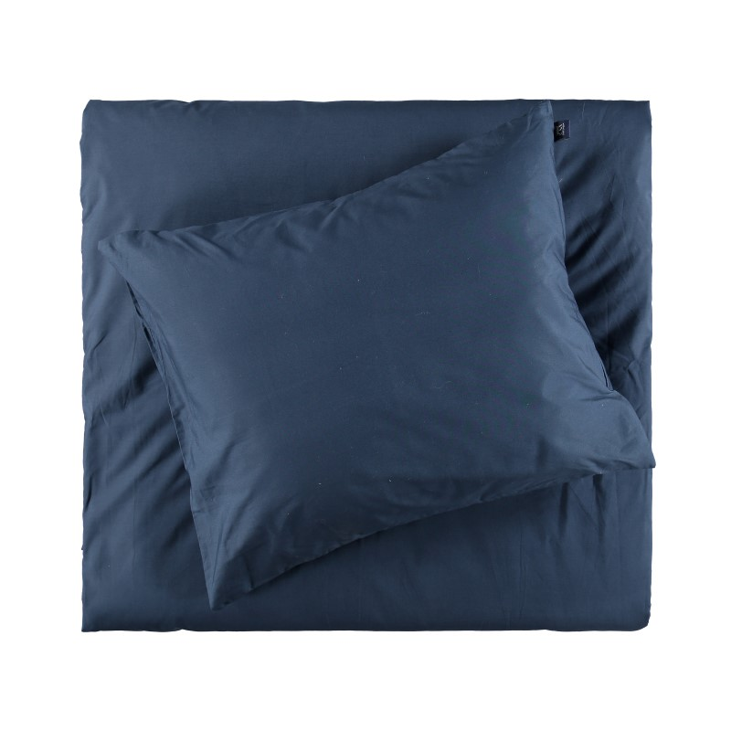 BED SET PERCALE GRIPSHOLM NAVY 150X210+50X60 CM