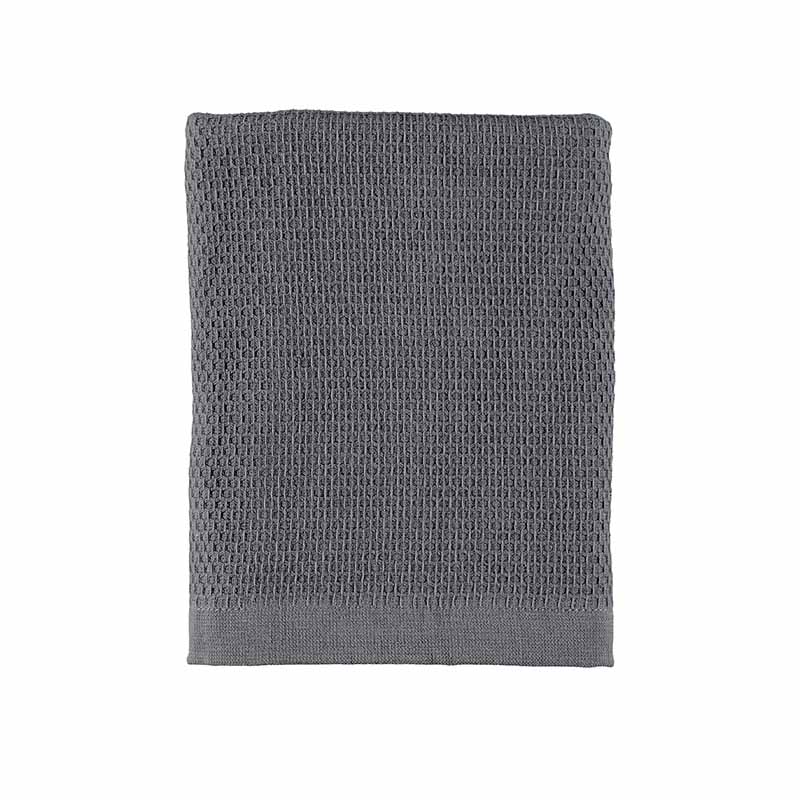 TOWEL WAFFLE TERRY ANTHRACITE 50X70 CM