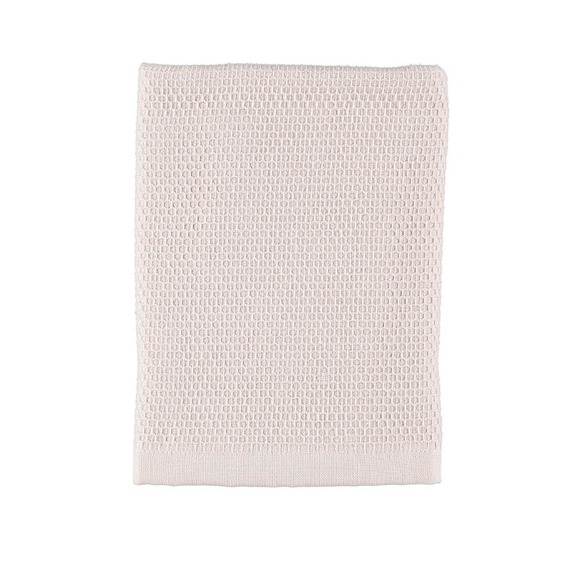TOWEL WAFFLE TERRY MISTY PINK 50X70 CM
