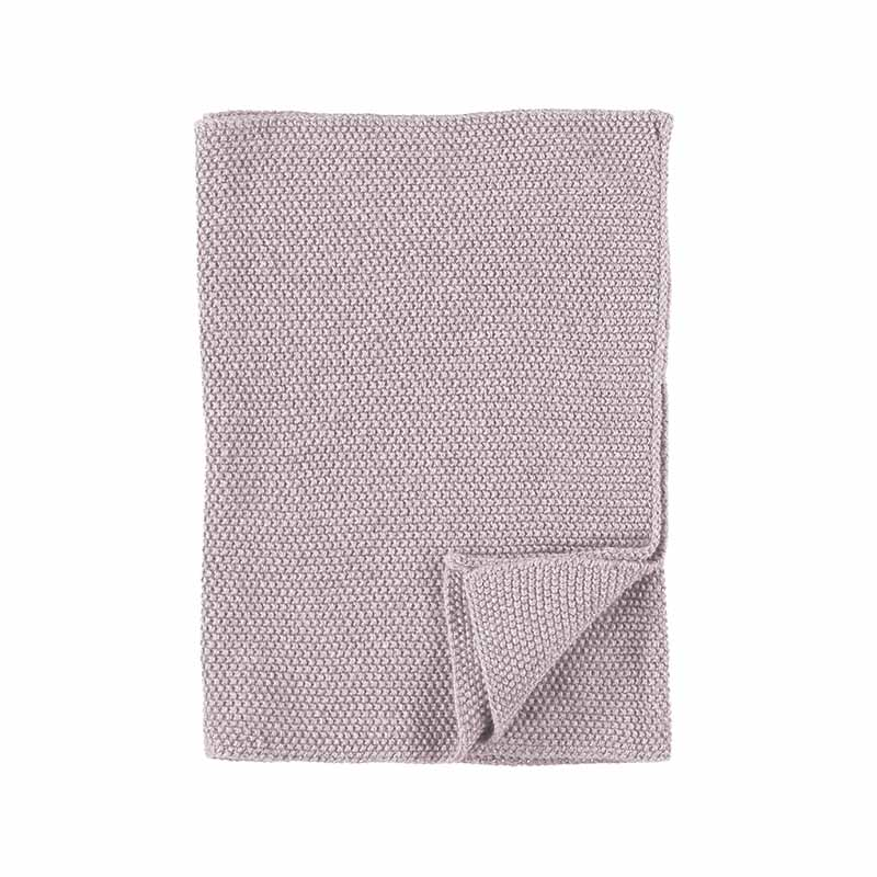 KITCHEN TOWEL KNITTED MAUVE 40X60 CM