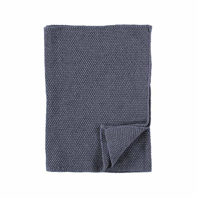 KITCHEN TOWEL KNITTED OMBRE BLUE 40X60 CM