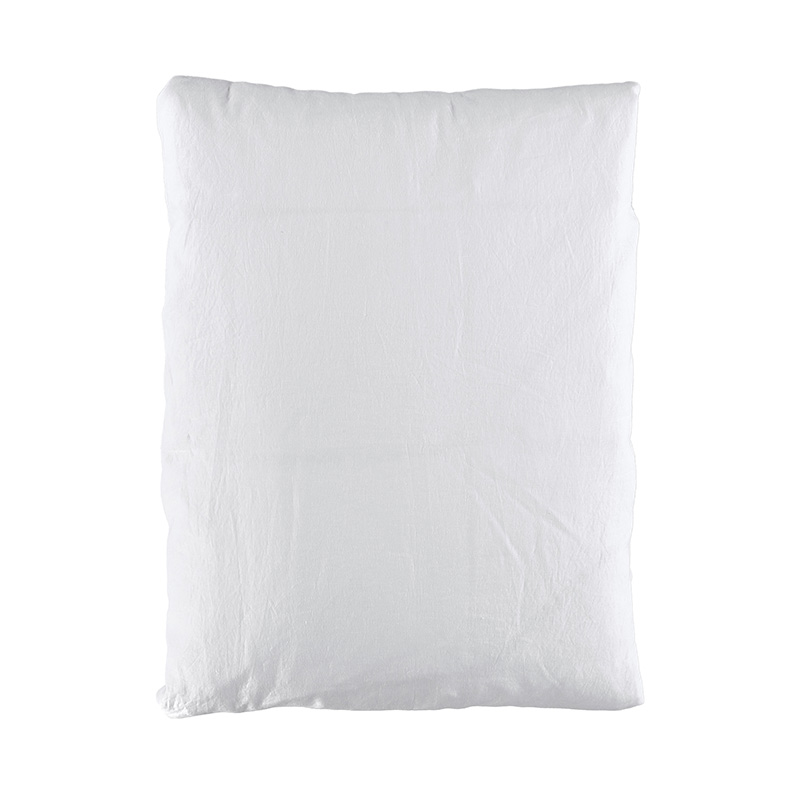 QUILT COVER WASHED LINEN WHITE 150X210 CM