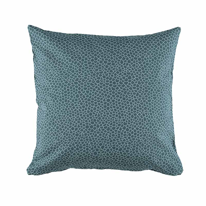 CUSHION COVER OLIVIA DARK PETROL 50X50 CM