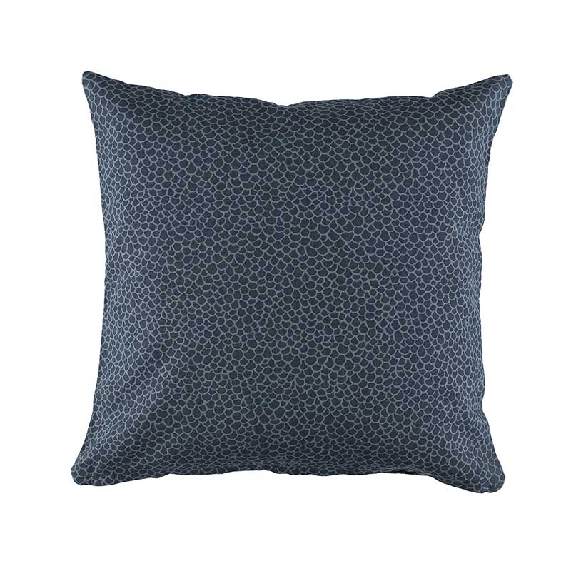 CUSHION COVER OLIVIA DARK BLUE 50X50 CM