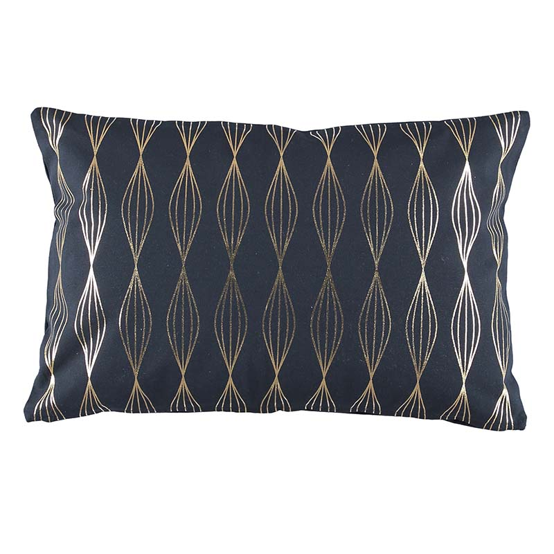 CUSHION COVER VEGA DARK NAVY 40X60 CM