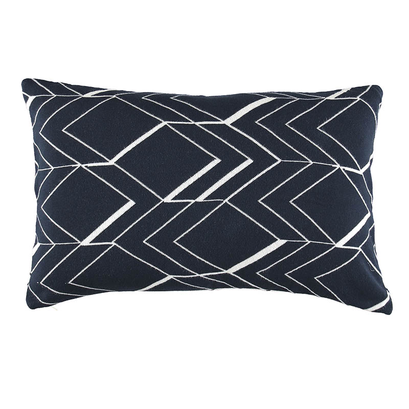 CUSHION COVER LYKKE DARK NAVY 40X60 CM