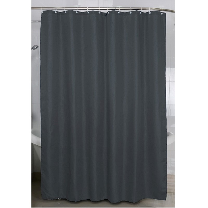 SHOWER CURTAIN VENICE GREY 180X200 CM