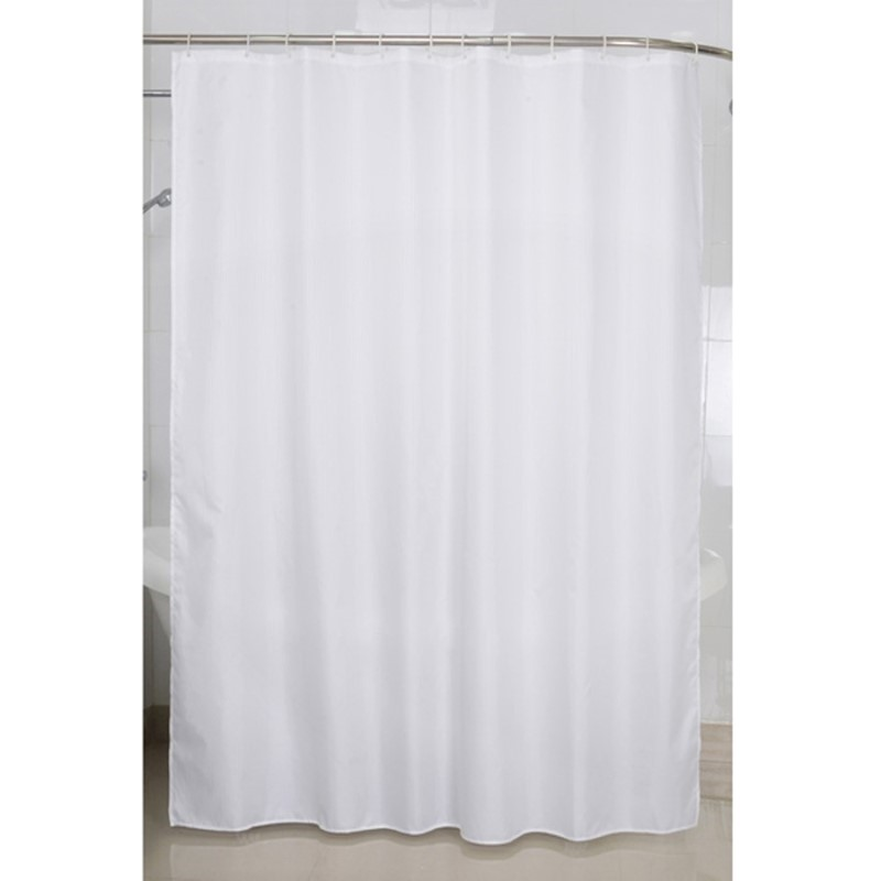 SHOWER CURTAIN VENICE WHITE 180X200 CM